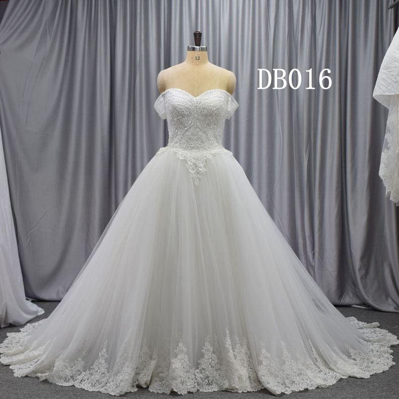 2020 New Design Bridal Gown Guangzhou Factory Wedding Dress