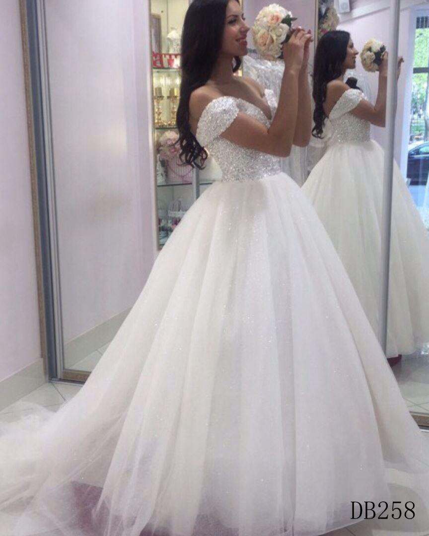 2019 New Design Bridal Gown Guangzhou Factory Wedding Dress